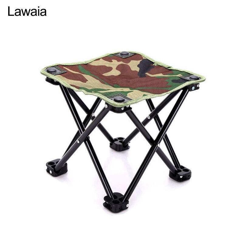 Lawaia складной стул портативный складные стулья рыболовные снасти камуфляжные дорожные мини стулья для кемпинга Сверхлегкий Открытый складной Dtool|Стулья для рыбалки|   | АлиЭкспресс