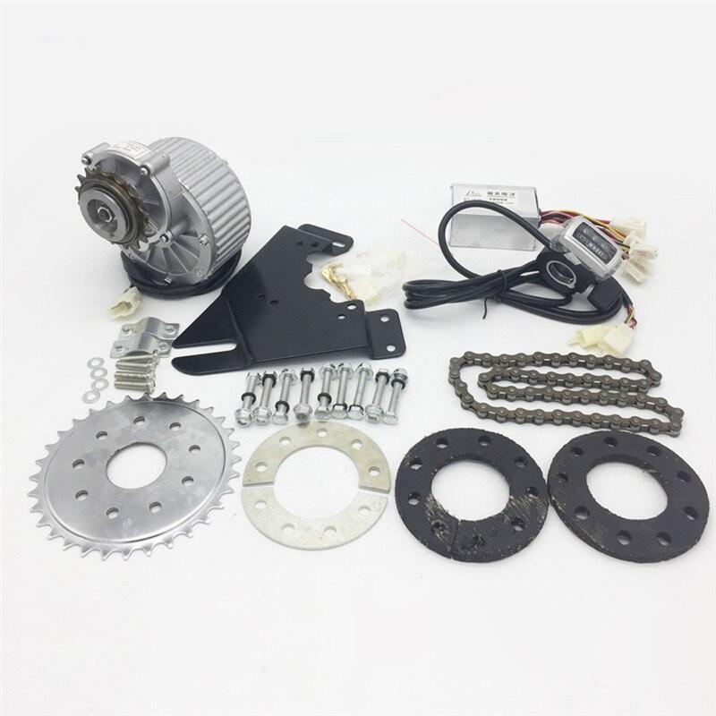 El nuevo Kit de conversión de la conducción izquierda de la bicicleta eléctrica de 450W se adapta a la mayoría de las bicicletas de uso común