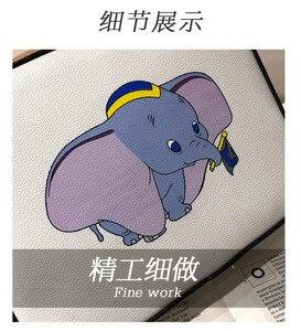 Image 5 - Disney Dumbo การ์ตูน lady messenger กระเป๋าสะพายกระเป๋า pu ผู้หญิงแฟชั่นกระเป๋าถือขนาดเล็กของขวัญกระเป๋าโทรศัพท์มือถือกระเป๋ากระเป๋า