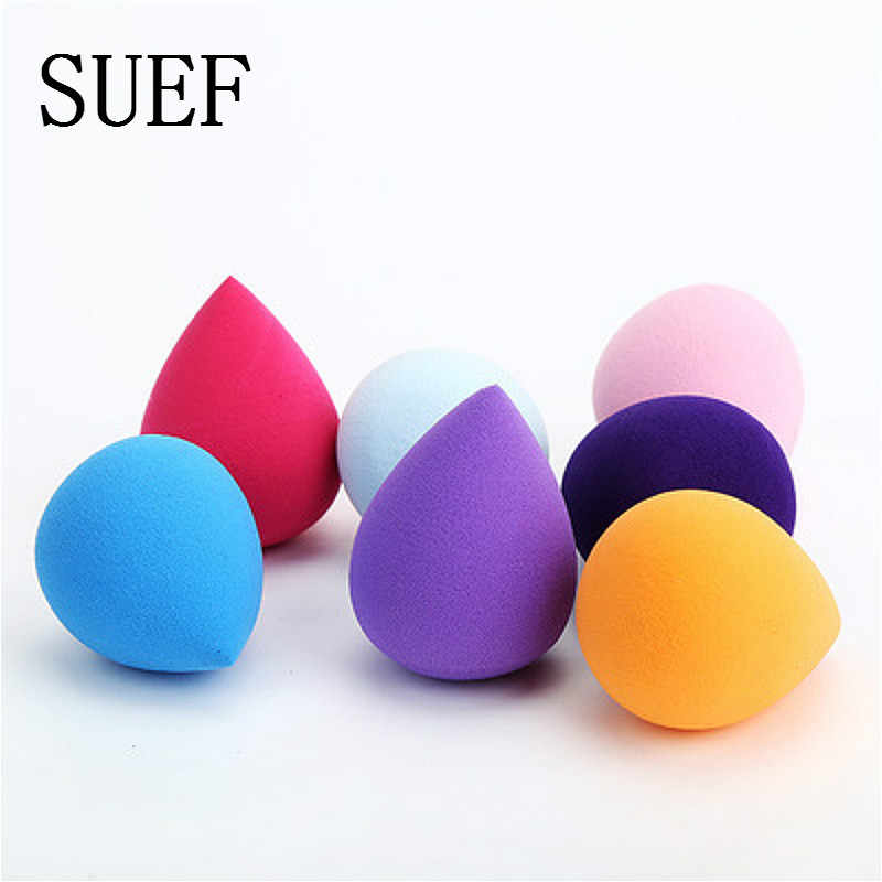SUEF Smooth Makeup Sponge Cosmetic Puff Foundation Powder Facial Beauty Face Make up Sponge Tools Accessories Party gift @2