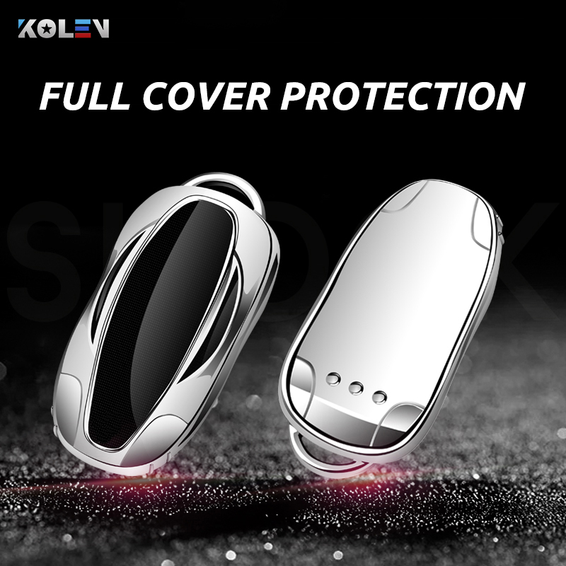 cheapest High quality OEM For Volvo S90 V90 XC90 2017-2020 Case Remote Keys Shell leather key cover car accessories