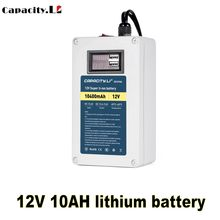 Capacity.Li 12V rechargeable battery portable mobile phone charging treasure 10AH20AH with bms and usb Charge for monitor lamp