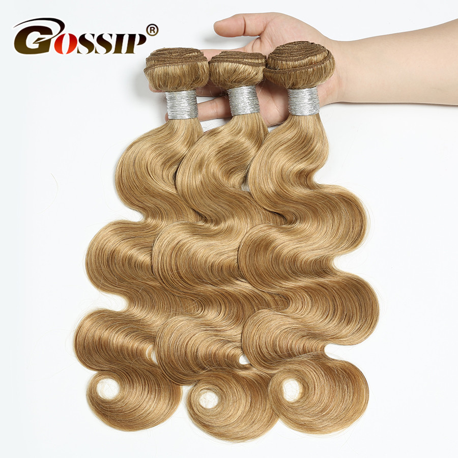 Honey-Blonde-Bundles-10-26-Inch-Body-Wave-Bundles-Hair-Extensions-Gossip-Peruvian-Hair-Bundles-Non