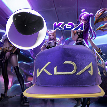 High Quality LOL KDA Cosplay Hat Akali Evelynn Ahri Kaisa Costume Women Girls Halloween party Play Adult Wigs Anime Game Hair image