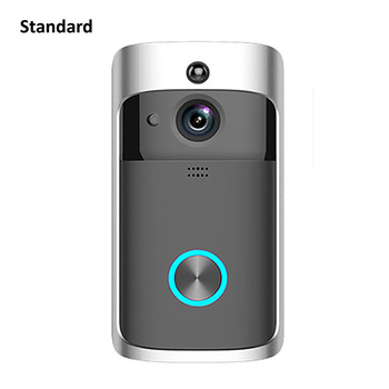 Wsdcam Smart Doorbell Camera Wifi Wireless Call Intercom Video-Eye for Apartments Door Bell Ring for Phone Home Security Cameras 7
