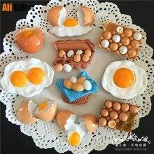 Magnets Fridge 3d-Refrigerator Russian Education Milk Cheese Breakfast European-Eggs