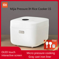 Original Xiaomi IH Pressure Rice Cooker 1S 3L Electric Kitchen Cooking Machine Mijia APP Function OLED screen display