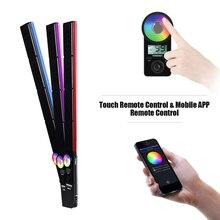 YONGNUO YN360III YN360 III 3200 5500K/5500K Handheld LED Video Light Bar Touch Lamp Adjusting Mode 10 Supplementary Lighting