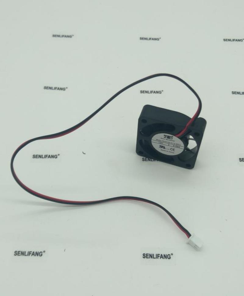 TD4010X-H-12-BPLL Silent Cooling Fan DC 12V 0.09A 1.08W 6500RPM 4010 4cm 40*40*10mm 3 Wires Speed Measurement Fan