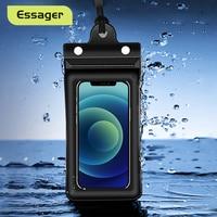 Custodia impermeabile Essager per iPhone 13 12 11 Pro Xs Max 2021 nuova custodia protettiva per telefono Xiaomi mi nuoto custodia impermeabile