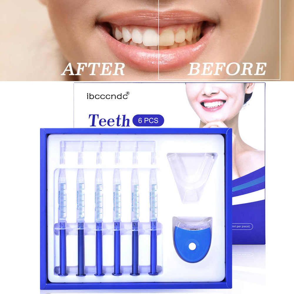 Teeth Whitening Kit Bleaching System Bright White Smile Tooth