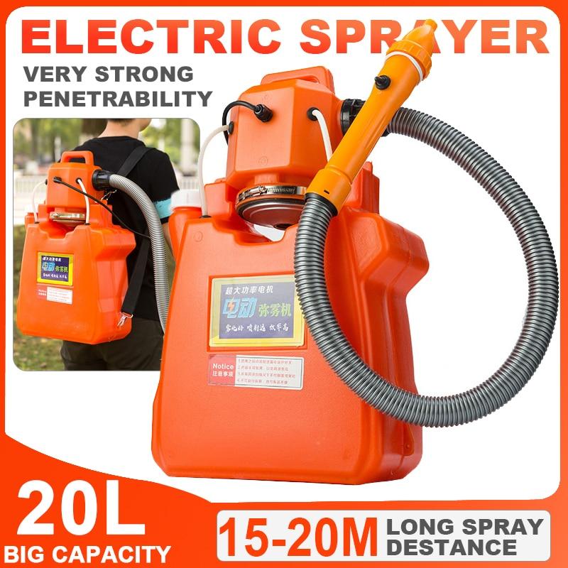 2200W Electric ULV Fogger Sprayer 20L Ultra Capacity Mosquito Killer Disinfection Machine 15 20M Distance Fight Drugs Sprayer|Sprayers| |  - title=