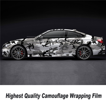 Highest quality  Printing high definition camo wrapping  film Camo Vinyl Car Wrap Film Camouflage Vinyl Wrapping top quality