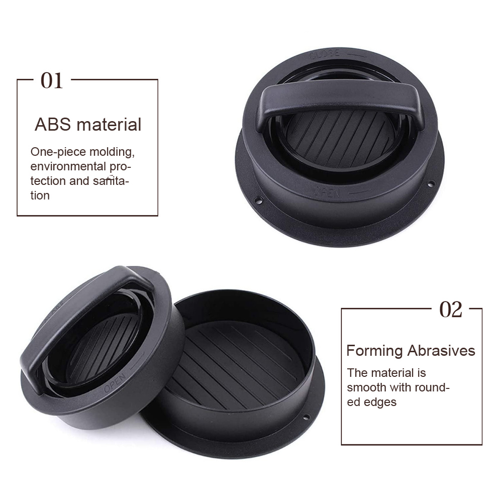 Cooking Burger Press Set Round BBQ Kitchen Gadgets Easy Clean Portable DIY ABS Patty Maker Meat Filling Beef Non Stick