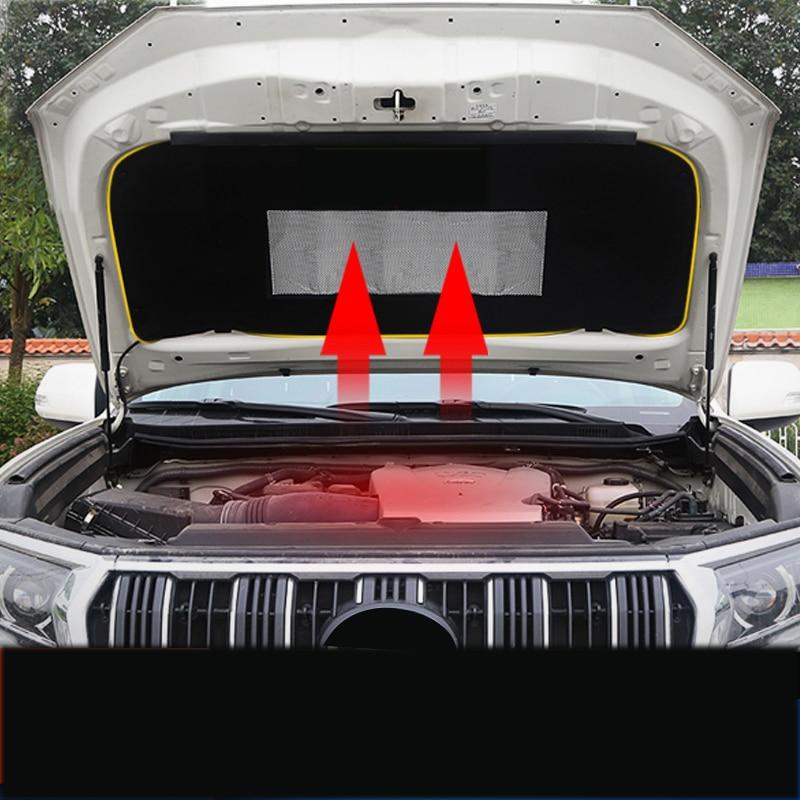 Lsrtw2017 Car Hood Heat Noise Sound Insulation Cotton For Toyota Land Cruiser Prado 2012 2013 2014 2015 2016 2017 2018 2019 2020