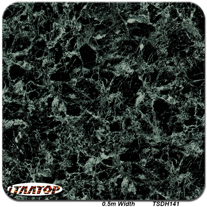 ITAATOP TSDH141 0.5M * 2M Popular Marble Designs Pattern Hydro Dipping Hydrographics Film Water Transfer Printing Films