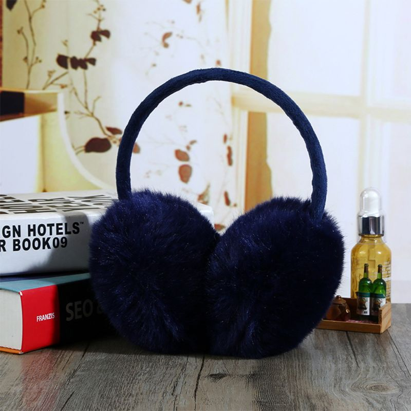2019 Winter Earmuff Imitation Rabbit Women Earmuffs Ear Warmers Large Plush   DXAA