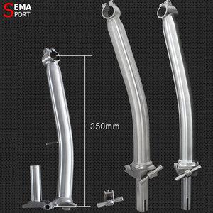 Image 5 - Titanium Headtube Stem Bromptons Super Ligth 460g SEMA 25.4mm Clamp M/S Type High Strength Quill Stem  Bicycle Gold/Black/Custom