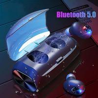 CALETOP V6 TWS Bluetooth 5.0 Earphones Wireless In ear Earbuds Stereo Earbud Waterproof Wireless Headset with Mic Charging Box