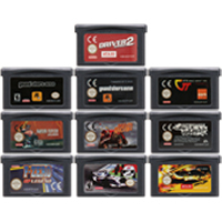 Cartucho de 32 bits para consola Nintendo GBA RAC, edición de juegos de carreras