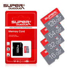 Class 10 Memory card 4GB 8GB 16GB 32GB Micro sd card 64GB Tarjeta microsd 32 gb Mini flash drive TF card with Free adapter(China)