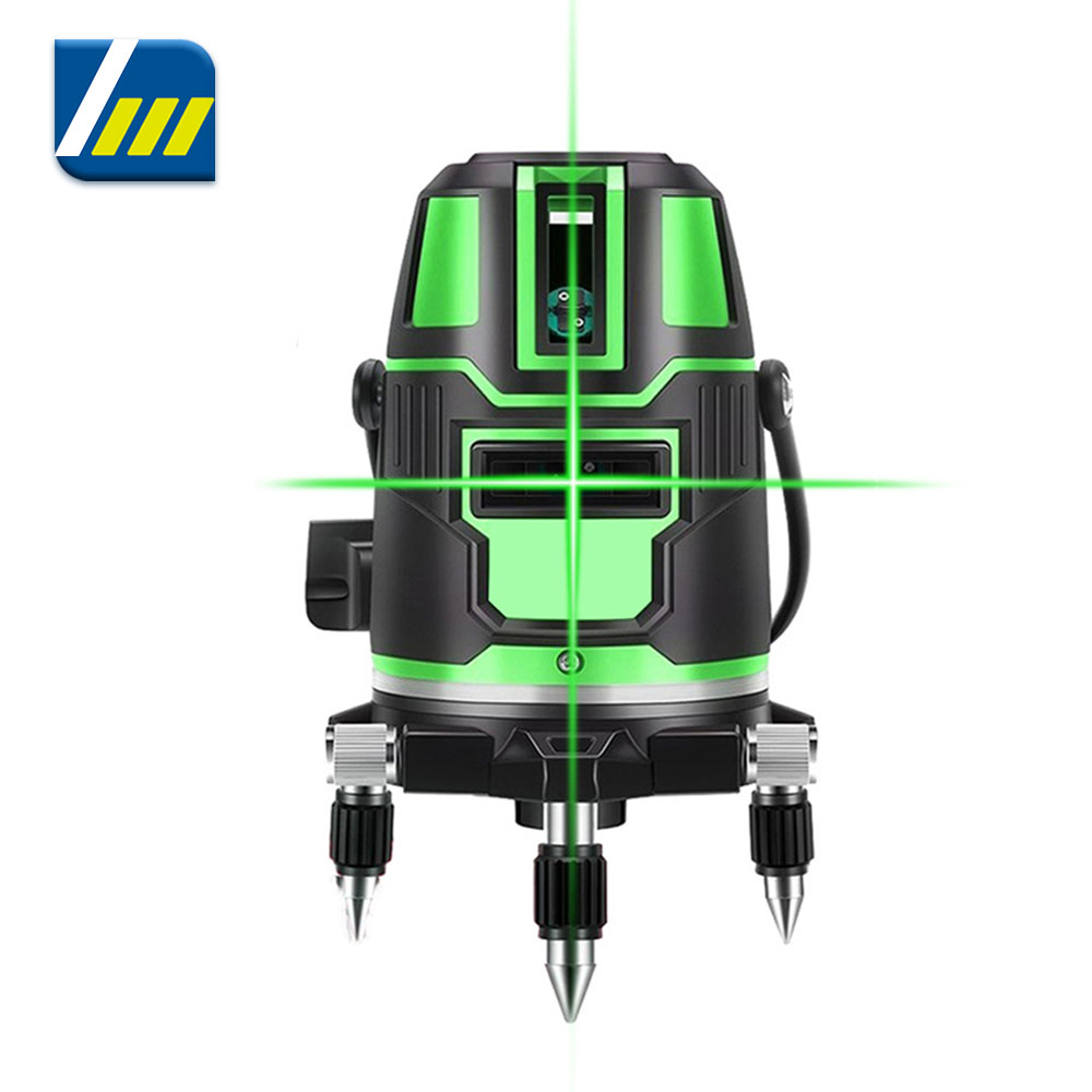 360 Laser Level Green Self-Leveling Horizontal And Vertical Cross 2 3 5 Lines Laser Leveling Device Tools with Box Dropshipping
