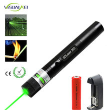 Lazer Adjustable Powerful 303 Laser Pointer Charger for 18650 Battery Long Distance Red Green Beam Lasers Sight 532nm