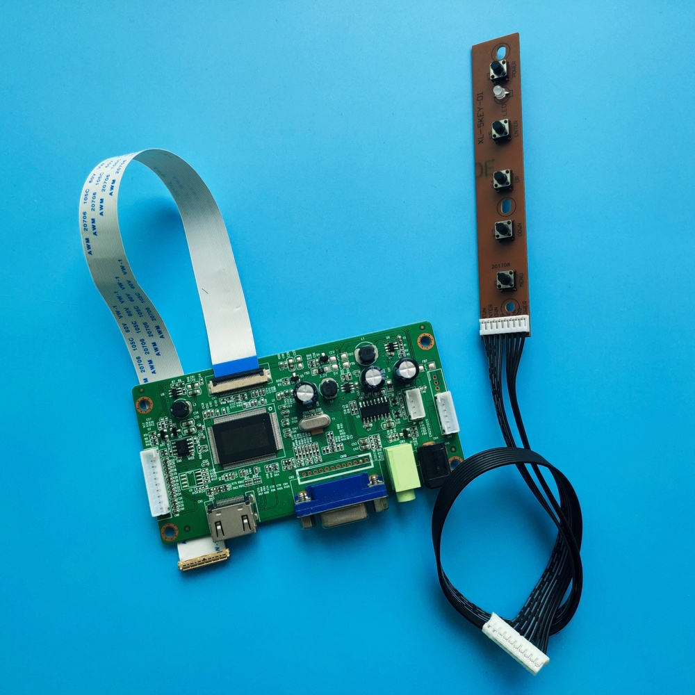 kit for NT156FHM-N41 EDP Controller Board Driver HDMI VGA LCD LED LVDS EDP NEW