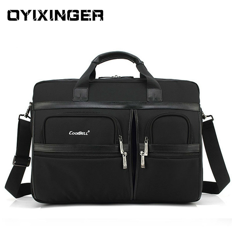 Men Laptop Bag Briefcases Office Bags For Men Women Large Shoulder Crossbody Bags Office Handbag 15 17 Inch For Macbook HP DELL