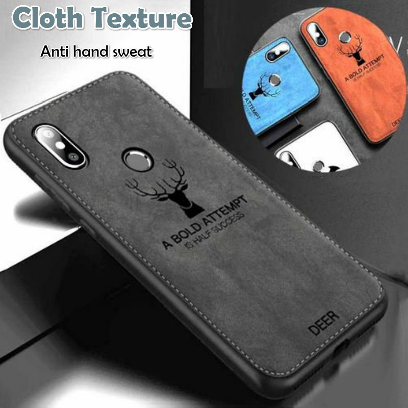 Shockproof Fabric Case for Xiaomi Redmi Note 9 9s 8T 8 7 Pro Classic Cloth Matte Skin Soft Back Cover for Redmi 9A 9 Phone Case