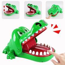 Палец укус Шутки Шутка Настольная игра игрушка, способный преодолевать Броды для взрослых маленькая цепочка для крепления «крокодиловая к...