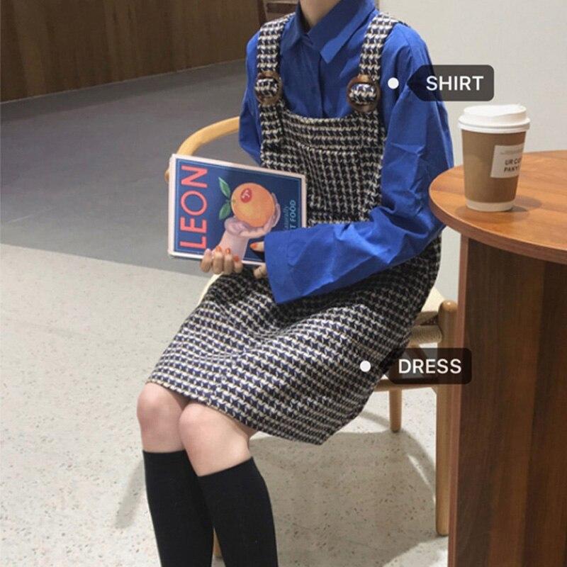 Платье из двух предметов на подтяжках для ранней весны, Женская Студенческая юбка, суперсказочный дизайн в стиле мори