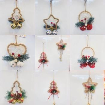 Dekoracje świąteczne dzwony Jingle Bells Ornament dekoracje świąteczne ations dzwonki na świąteczne dekoracje weselne tanie i dobre opinie CN (pochodzenie) Tak ( 50 sztuk) 50pcs Miedzi