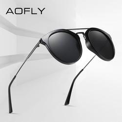 AOFLY BRAND DESIGN Fashion Polarized Sunglasses Men's Square Frame Driving Travel Sunglasses Female Classic Luxury Eyewear Women
