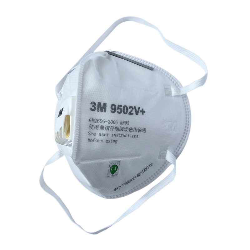 10Pcs 3M Mask Mouth PPF3 N95 9502v+ Anti Flu Dust Face Mask Mouth Protective Mascherine PM2.5 Protective Mask Reusable
