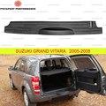 Защитная накладка на задний бампер для Suzuki Grand Vitara 2005-2012 АБС пластик молдинг защита от царапин