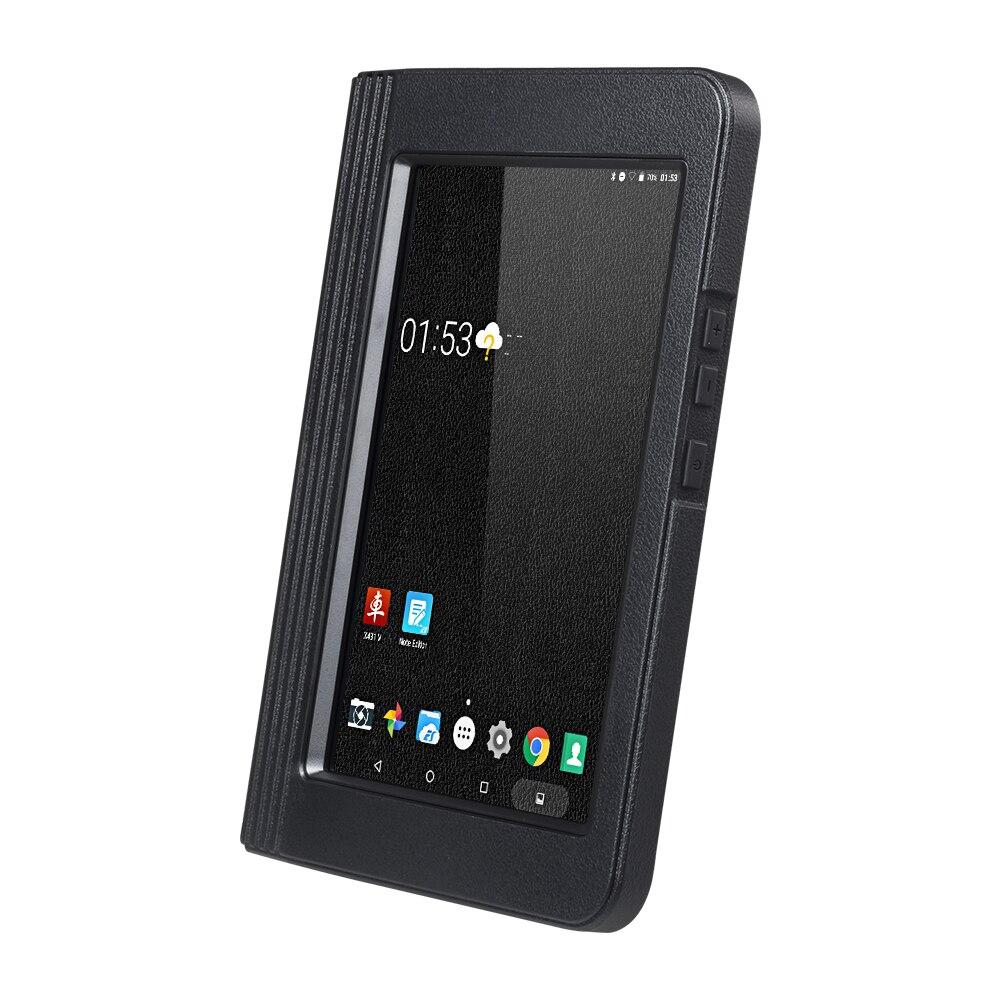 Lançamento x431 v 8 polegada tablet wifi e bluetooth sistema completo ferramenta de diagnóstico dois anos atualização gratuita carro em linha scanner x431 v obd 2