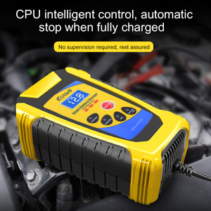 Image 5 - Car Battery Charger 6V/12V/24V 6A Pulse Repair Lead Acid Battery Charging For Motorcycle Car Truck LCD Display Digital Charger