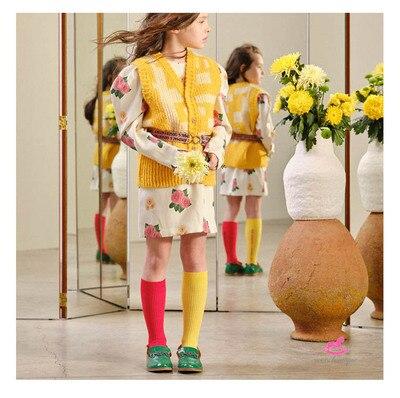 Kids AB Socks TAO Brand 2021 New Baby Girls Knee High Long Soft Sock Cotton Candy Cotton Tube Socks Bebes Newborn Boys Children 3