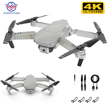 Drone 1080P HD WiFi transmission fpv drone height keeps one-button return Quadcopter RC helicopter VS gd89 drone camera dron 1