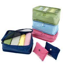 Foldable Portable Nylon Mesh Storage Bags For Clothes Camping Travel Pouch Luggage Organizer Tidy Box Home Outdoor Bag