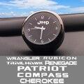 Высококачественные часы для украшения автомобиля, модифицированные электронные кварцевые часы для салона автомобиля для JEEP CHEROKEE COMPASS PATRIOT ...