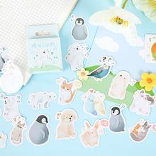 20 коробок мультяшный Пингвин стикер водонепроницаемый для книги