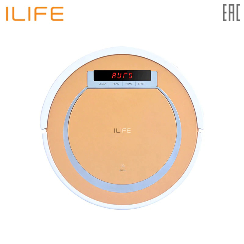 Robot vacuum cleaner ILIFE V55 wet and dry cleaning ilife v5s pro intelligent robotic vacuum cleaner