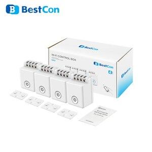 Image 5 - Broadlink Bestcon MCB1 1/2/3/4 шт Смарт маршрутизатор Wi Fi светильник переключатель Беспроводной Управление коробка работает с Siri и Alexa