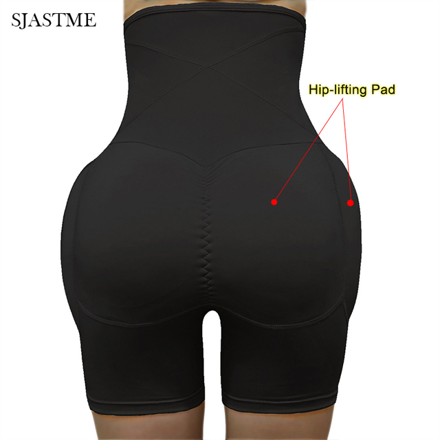 High Waist Tummy Control Panties Stomach Hip Pad Firm Control Shapewear Body Shaper Butt Lifters Bodysuit Booty Butt Enhancer