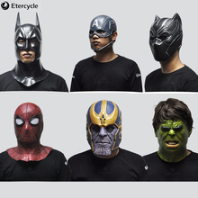 Avengers Mask Halloween Decoration cosplay Party Spiderman / Batman Captain America Black Panther Hulk gift