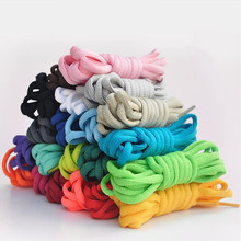 50 Pairs/lot Oval Shoelaces Shoe Ropes Polyester Lace for Sneakers 100cm/120cm/140cm/160cm/180cm Sports Shoes Laces