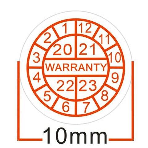 atacado 1000 pcs lote 10 diametro mm garantia etiquetas etiquetas void garantia vazio se o