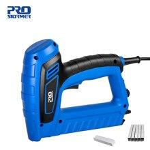 Prego arma carpintaria eletric furniture grampeador power nailer grampeador prego reto 2000w 220v-240v ferramentas de alta potência prostormer